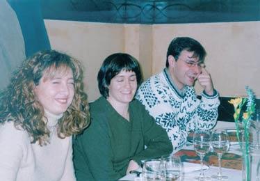 De izquierda a derecha Ana, Nere y Fran