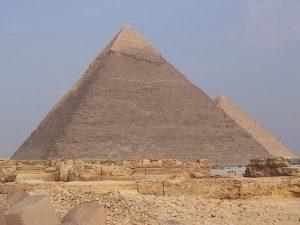 El nacimiento de la pirámide