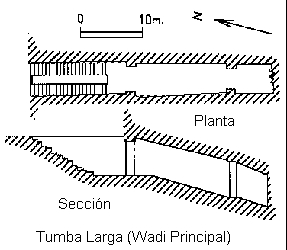 tumba larga-wadi principal