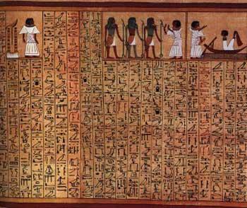Resultado de imagen de papiro de leyden