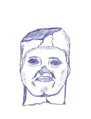 Dibujo de cabeza de Shabataka