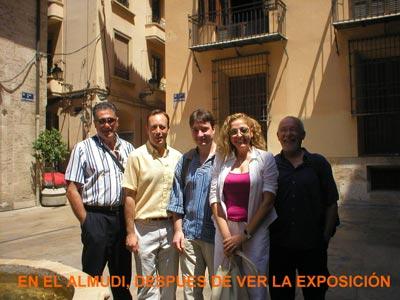 En el Almundi, después de ver la exposición