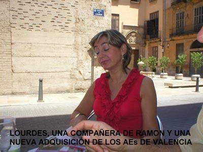Lourdes, una compañera de Ramón y una nueva adquisición de los AEs de Valencia