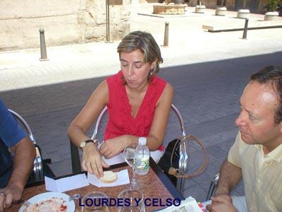 Lourdes y Celso