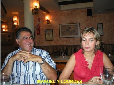 Manuel y Lourdes