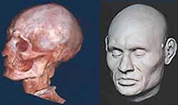 La TC revela el verdadero rostro de una momia con 3.000 años de antigüedad