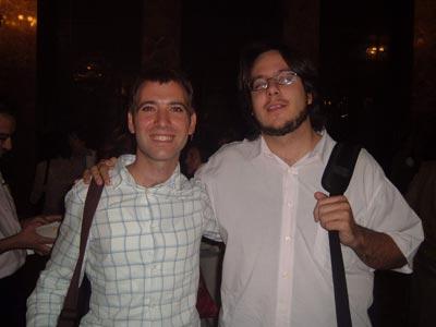 Gerardo y Curro, dos amigos con ganas de ir a cenar
