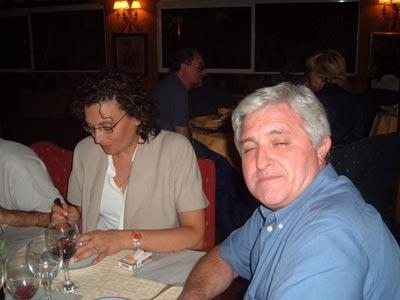 Marinela y Javier