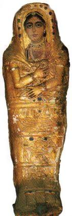 La muchacha de oro. 125-150 d.C. Museo Egipcio de El Cairo