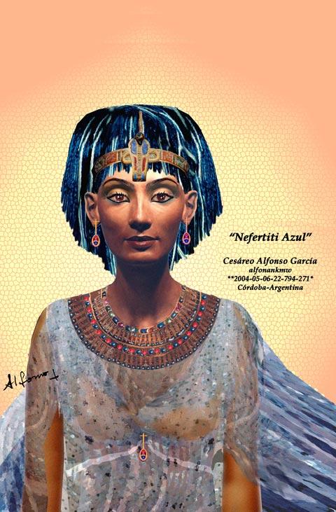 Nefertiti Azul