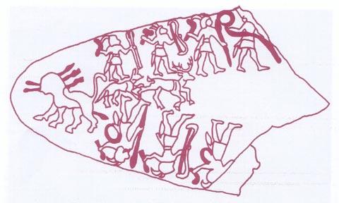 Fig. 2 - La Paleta de los Cazadores - (Grupo C)