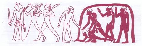 Fig. 3 - Soldados con Mazas - (Grupo C)
