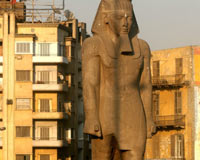 La restauración de la estatua de Ramses II durará dos años