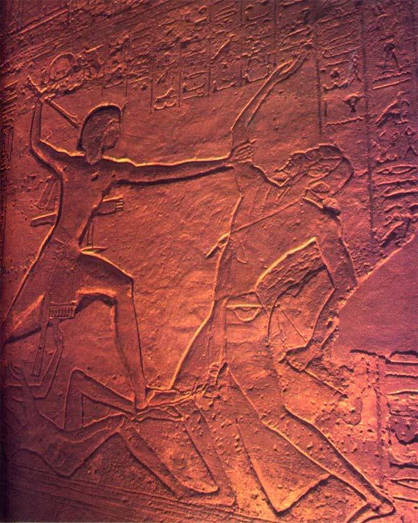 La Battala de Kadesh en Abu Simbel