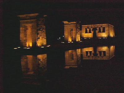 La UNESCO propone cubrir el Templo de Debod con una campana de cristal para protegerlo