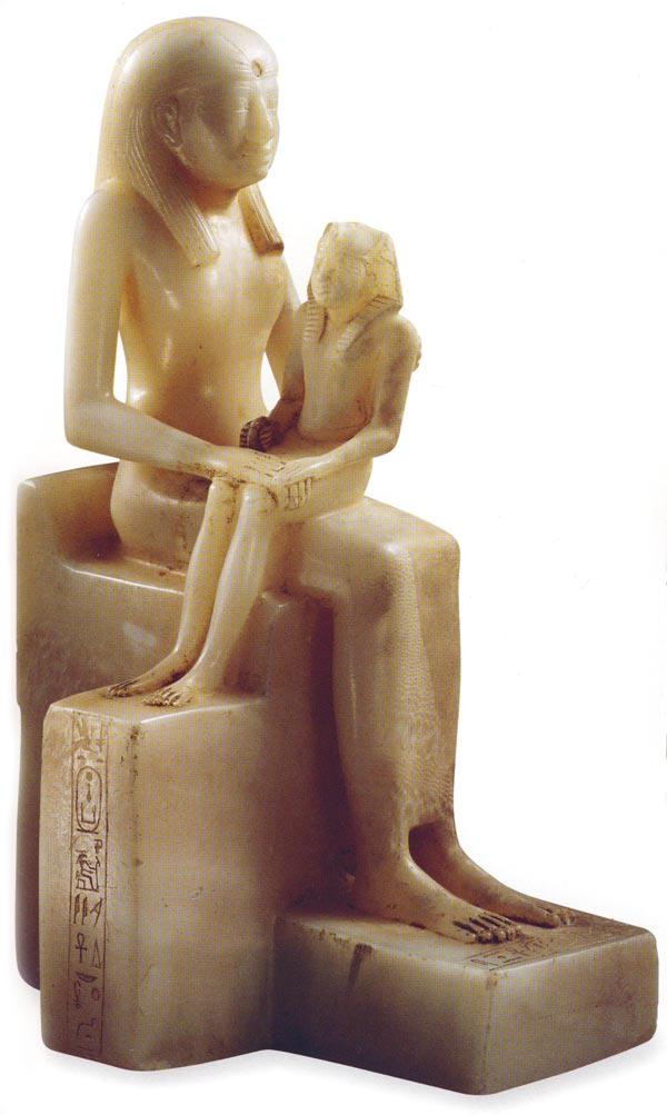 Fig. 1. DAMIANO, M., Antiguo Egipto. El esplendor del arte de los faraones, Madrid, 2001, p. 33