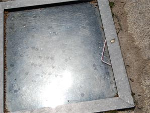 Algunos restos que quedan después de las acampadas