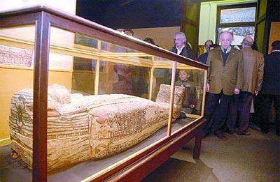 El museo de La Plata ofrece un viaje virtual a los templos sagrados del antiguo Egipto