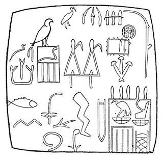 Tablillas inscriptas de madera y marfil