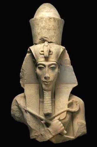 Coloso de Ajenatón. Museo Egipcio de El Cairo