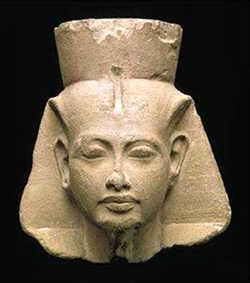 Cabeza de Tutânjamón. Museo Egipcio de El Cairo