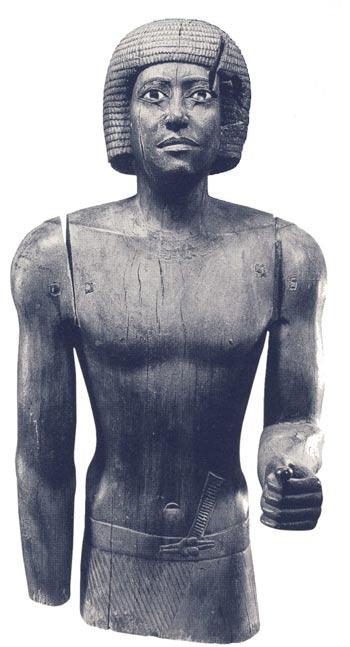 Foto. 4. El joven Kaaper. Foto en Foto en N. REE-VES, El antiguo Egipto. Los grandes descubrimientos, Barcelona, 2001, p. 53.