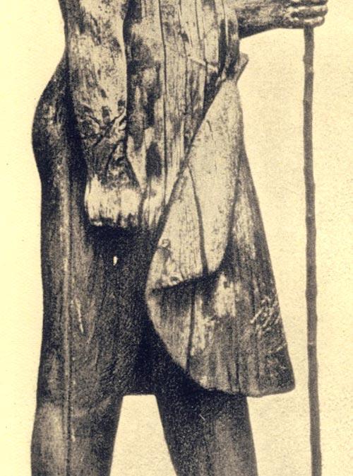 Foto. 8. Detalle del faldellín de Kaaper.Detalle de foto en D. RA-GAI, L' art pour l'art dan l'Égypte antique, París, 1940. PL.4.