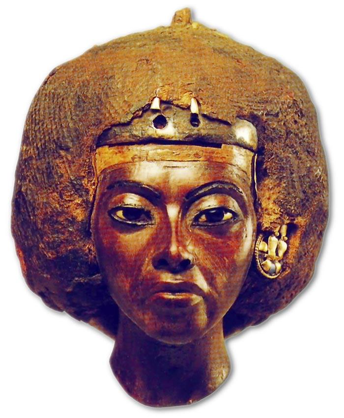 Fotografía publicada en el Catálogo de la exposición Aménofis III. Le Pharaon-soleil, París, 1993, p. 173.