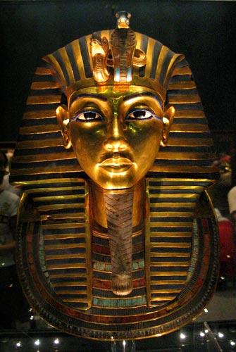 Foto 5 - La máscara funeraria de Tutankamón
