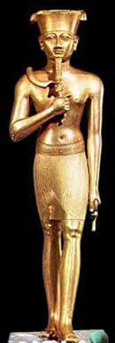 Foto 9 - El dios Amón del mundo egipcio, escultura de oro ubicada en el Museo de Arte Metropolitano de Nueva York