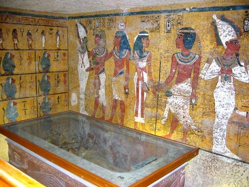 Foto 10 - Cámara funeraria de Tutankamón