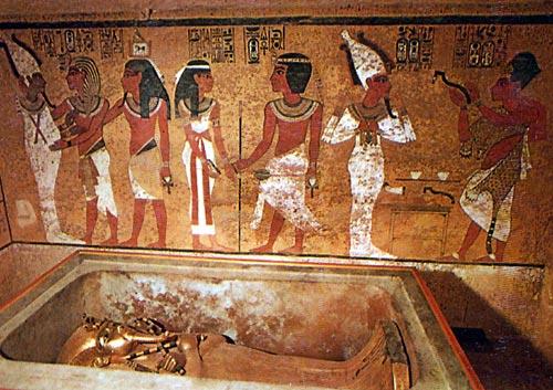 Foto 27 - La belleza de las tumbas faraónicas, en particular la del joven monarca