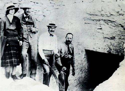 Foto 35 - La expedición de Carter en el umbral de su hallazgo: la tumba de Tut