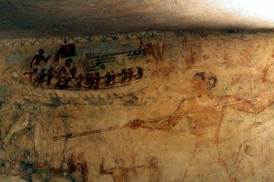 Descubren una tumba de un religioso en las pirámides de Guiza