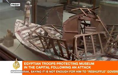Asaltan el Museo Egipcio y destruyen dos momias faraónicas