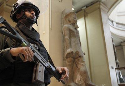 Nuevos intentos de saqueo al Museo de Antigüedades de El Cairo