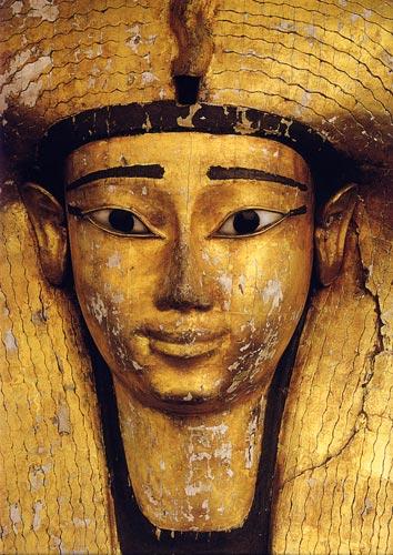 Fig. 8. Detalle del sarcófago de Ahhotep. Museo de El Cairo.