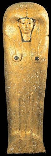 Fig. 9. Sarcófago de Ahhotep. Museo de El Cairo.
