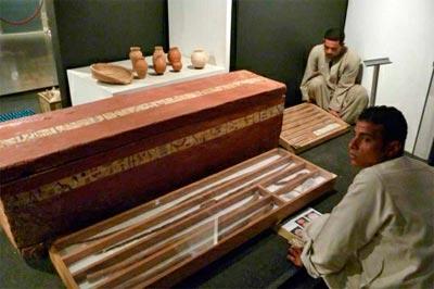 Luxor expone los tesoros hallados por egiptólogos españoles