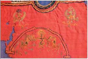Nuestros tejidos coptos, estudiados y restaurados, vuelven a Montserrat