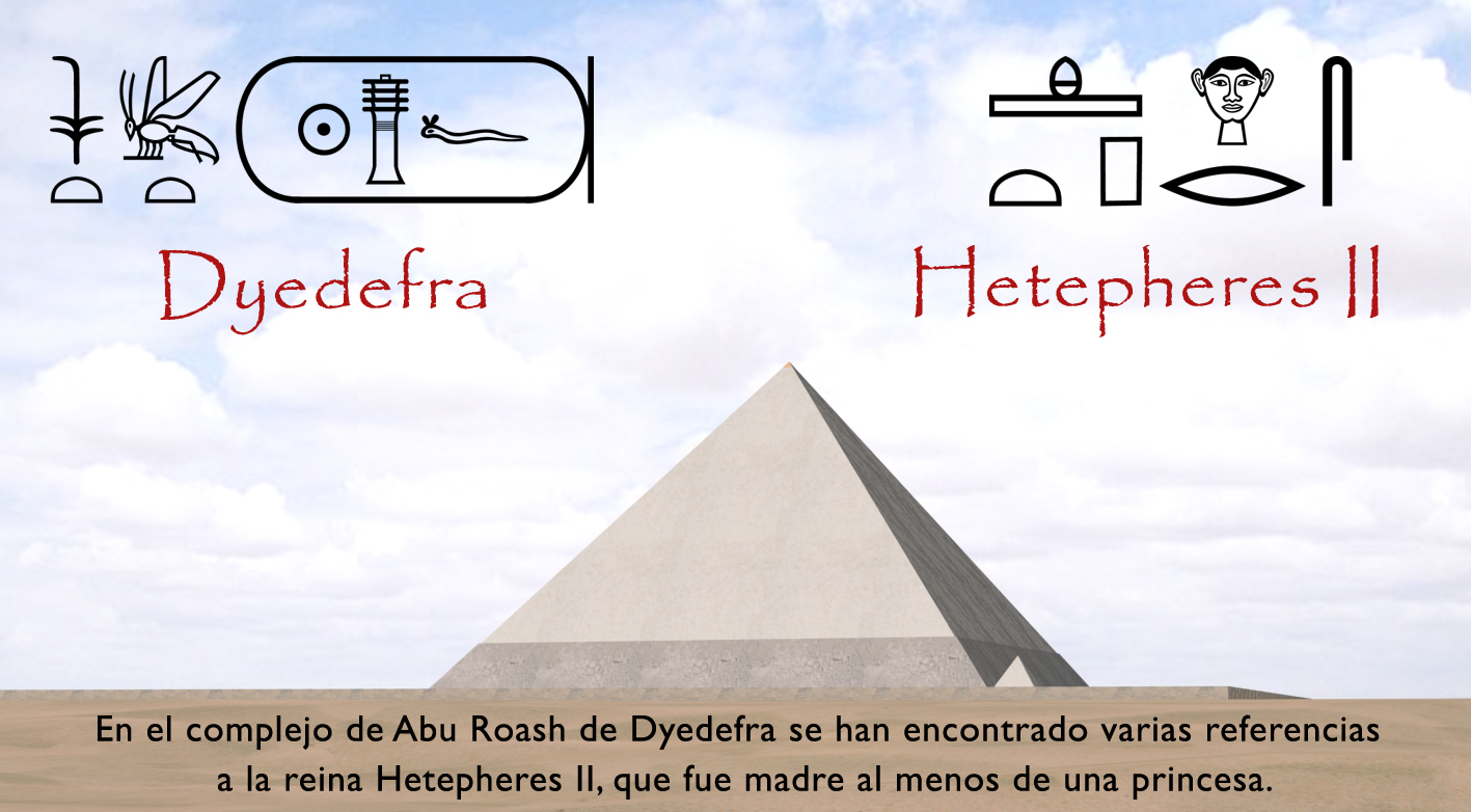 12-Dyedefra y Hetepheres II