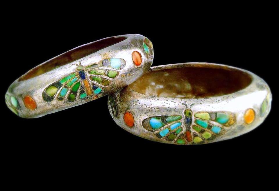 8-brazaletes egipcios.Hoteferes