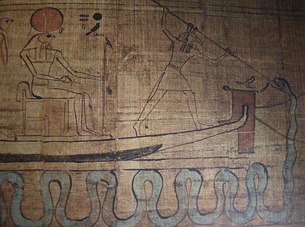 2.Set contra Apofis papiro antiguo Egipto