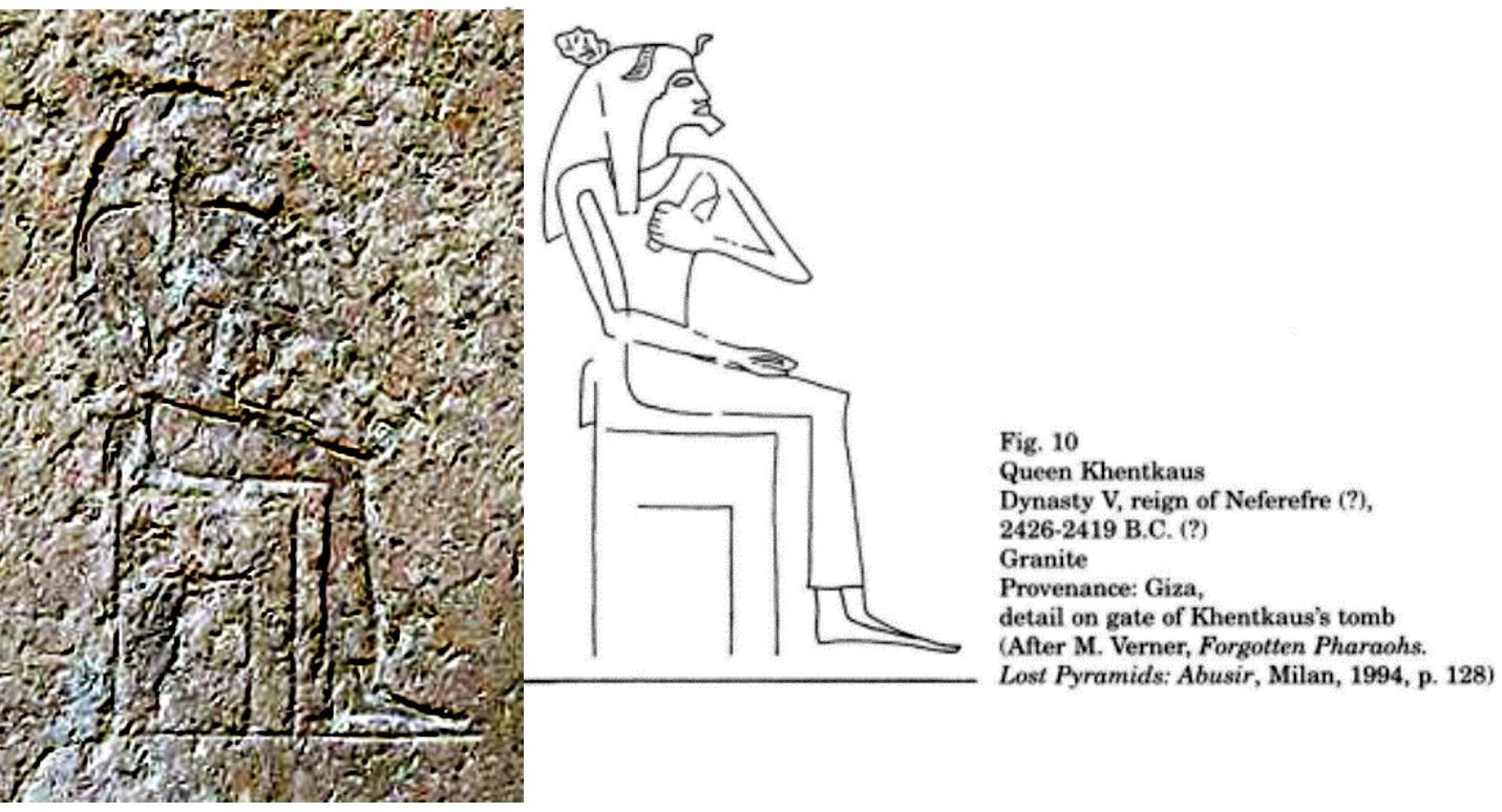 Fig. 19.Jentkaus I rey de Egipto