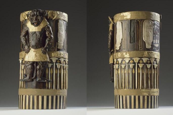 3.- caja decorativa amenhotep