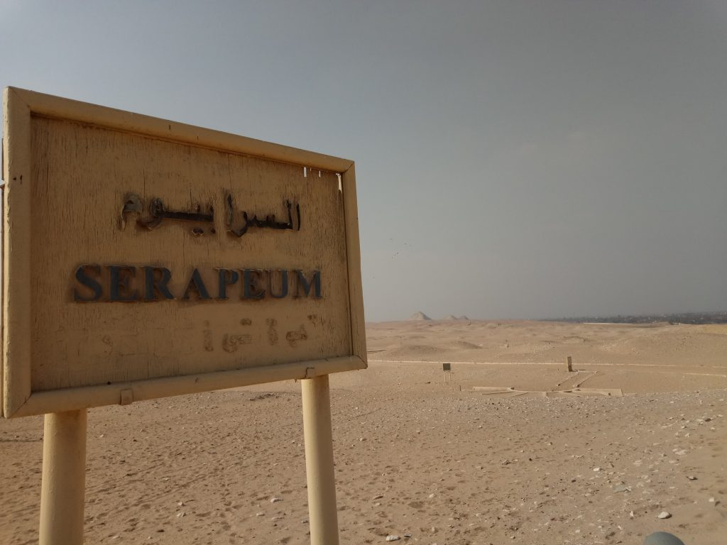 Hacia el Serapeum